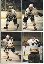 1985-86 Boston Bruins 12-card Postcard Set  Ray Bourque  Steve Kasper  +++