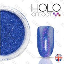 LASER HOLO EFFECT NAIL ART POWDER  GEL & ACRYLIC Holographic <Royal Blue 25>