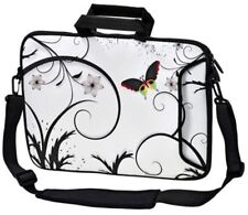 "LUXBURG 13"" Inches Design Laptop Sleeve With Shoulder Strap & handle #AJ"