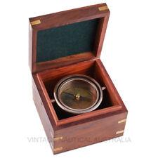 Vintage Nautical Compass- Jumble brass Antique Finish