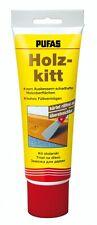 Pufas Holzkitt 400g Spachtelmasse Reparaturkitt Holz-Kitt Füllstoff