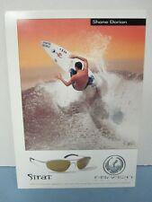 DRAGON optical 1999 surf SHANE DORIAN STRAT promotional postcard- NEW old stock!