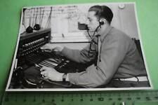 tolles altes Foto - franz. Soldat ? - Telefonvermittlung 1946 - Berlin ???