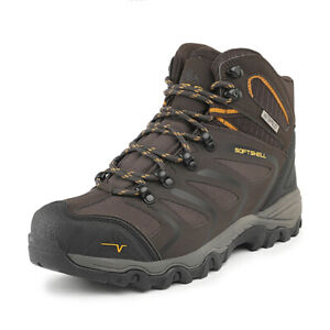 US Men's Ankle Waterproof Hiking Boots Outdoor Lightweight Trekking Trails Shoes