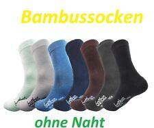 1-24 Paar Bambussocken Wellness-Socken mit kompfortbund für Herren und Damen