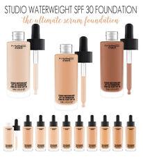 MAC Studio Waterweight SPF30 Foundation 3ml, 5ml sample pot or 30 ml full size