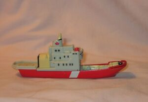 Diecast Theodore Tugboat Constance With Wheels; Distributed By Ertl 1990