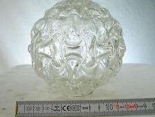 Lampenschirm Glas Ersatzschirm 4 cm Aufnahme 70er Design Bouble