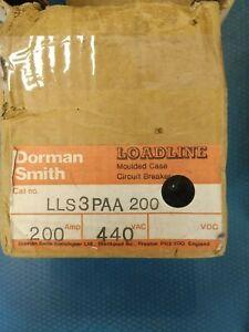 DORMAN SMITH  LOADLINE LLS3PAA 200 MCCB 440V 200A