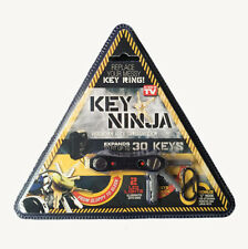 Ninja Key Chain 3 in 1 Smart Messy Keys Holder Bottle Opener LED Light EDC Tools