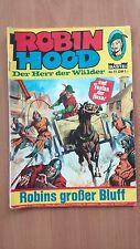 El Robin Hood de la señor de los bosques nº 11 Robins gran Bluff siguen 1973