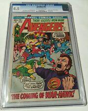 Avengers # 98 , 1972 cgc 4.5