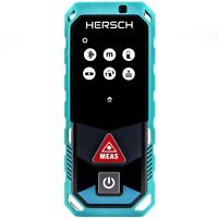 HERSCH Laser Measure LEM 50 with Bluetooth & App, IP65, 800 mAh Ni-Mh batteries
