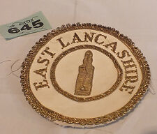 Masonic Regalia -East Lancashire Masons Patch (See Pics) - LOT GX645