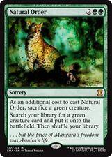 NATURAL ORDER Eternal Masters MTG Green Sorcery Mythic Rare