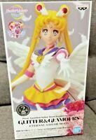 New Sailor Moon Glitter & Glamours Eternal Sailor Moon Type A Color Figure