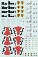 Carpena decals for cars 1/18 - Marlboro  (Ref 11818)