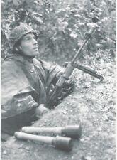 WW2 Photo German Paratrooper FG42 B&W WWII Photo RARE! World War Two Wehrmacht