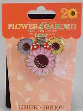 Disney World Epcot 20 Years Flower & Garden Festival 2013 Minnie Mouse LE Pin