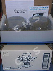 Parker Labs AQUAFLEX Ultrasound Gel Pad 2x9cm 04-02 Disposable Standoff 6/CASE !