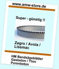HM Bandsägeblätter Sägeband 3380 mm Gasbeton Yton Porenbeton Lissmac Zagro Avola