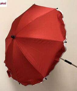 OMBRELLINO parasole universale passeggino col rosso OS111239 PICCI -nuovo-Italia