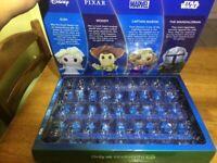Disney plus ooshies woolworths collector's album case (empty) box + BONUS OOSHIE