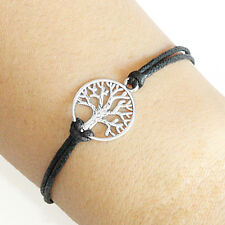Tree of Life Charm Bracelet Lucky Friendship Silver Plated Charm Bracelet