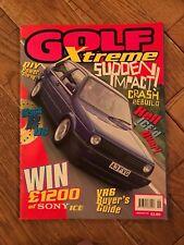 Golf Xtreme Magazine Sept/Oct 97 Classic VW Mk1 Mk2 Mk3 Mk4 Golf, Corrado, Jetta