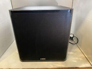 Yamaha NS-SW40 120V 45W Active Powered Subwoofer Speaker ~Tested
