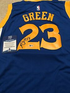 Draymond Green Signed Autographed Golden State Warriors Jersey! Beckett COA!