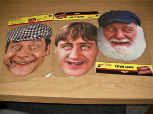 Only Fools and Horses 2D Card Party Face Masks Variety 3 Pack