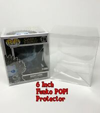 3 Pack - 6 Inch Funko POP! Vinyl Box Protector Clear - Free Shipping