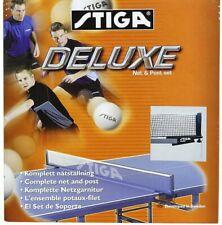 Stiga Deluxe Net & Post Table Tennis Set, Clamp-On