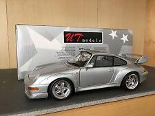 1/18 UT Models Porsche 911 (993) GT2 street car silver