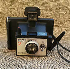 Vintage camera Polaroid Square shooter 2 french antique camera