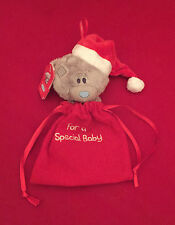ME TO YOU BEAR TINY TATTY TEDDY FOR A SPECIAL BABY CHRISTMAS BAG STOCKING BEAR