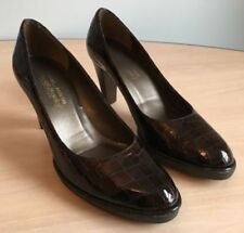 Russell & Bromley Patent Leather Slim Court Heels for Women