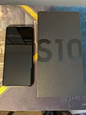 Samsung Galaxy S10 SM-G973U - 128GB - Prism Black (Unlocked) (Single SIM) Used
