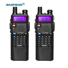 2pcs/lot BAOFENG UV5R 3800 Battery Dual Band VHF UHF Portable Pofung UV5R Radio