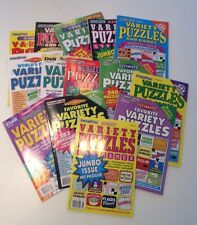 Lot of 4 Penny Press Variety Puzzles DELL Word Games Ultimate Favorite Good Time