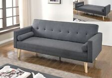 Scandinavian Three Seater Sofa Beds