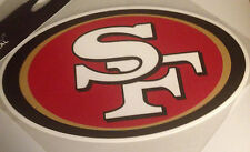 "SF San Francisco Giants NFL 9"" x 4.5"" Wide VInyl Decal Sticker"