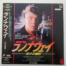 Out Of Bounds Japanese Imported Laserdisc w/OBI Anthony Michael Hall Japan