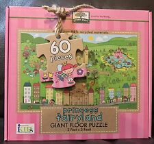 Green Start Giant Floor Puzzle Princess Fairyland Made From 98% Recycle Material
