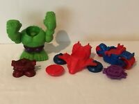 Play Doh Marvel Superhero Set Molds Shapes Vehicles Spiderman Hulk Iron Man