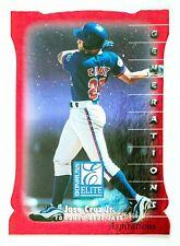 Jose Cruz #143 (1998 Donruss Elite) Aspirations 1/750 Red Die-Cut, Blue Jays