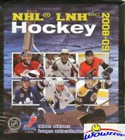 2008/09 Panini Hockey MASSIVE 50 Pack Factory Sealed Sticker Box-250 Stickers!
