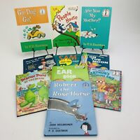 Dr. Seuss Lot Of 10 HC Books- I Can Read/Learning Library/Bright & Early