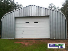 20x25x12 Steel Residential Metal Garage Two Car Storage Building DIY Factory Kit